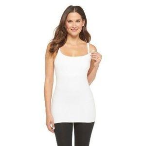 Gilligan & O'Malley Intimates & Sleepwear - Gilligan & O'Malley Nursing Cotton Cami White